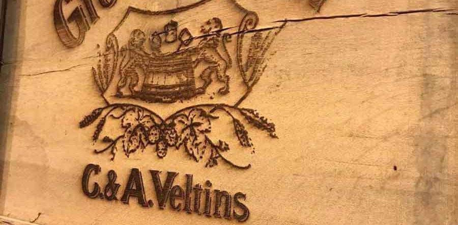 Grevensteiner Logo auf Holz
