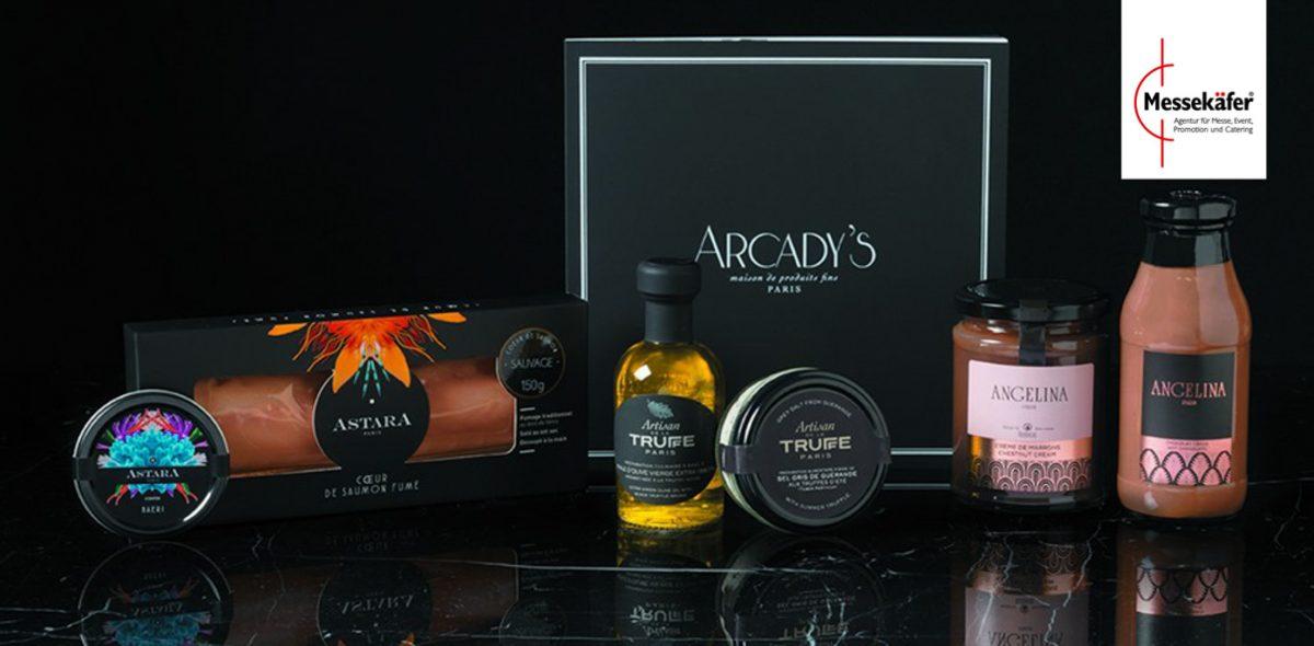 Mehrere Produkte von Arcady's