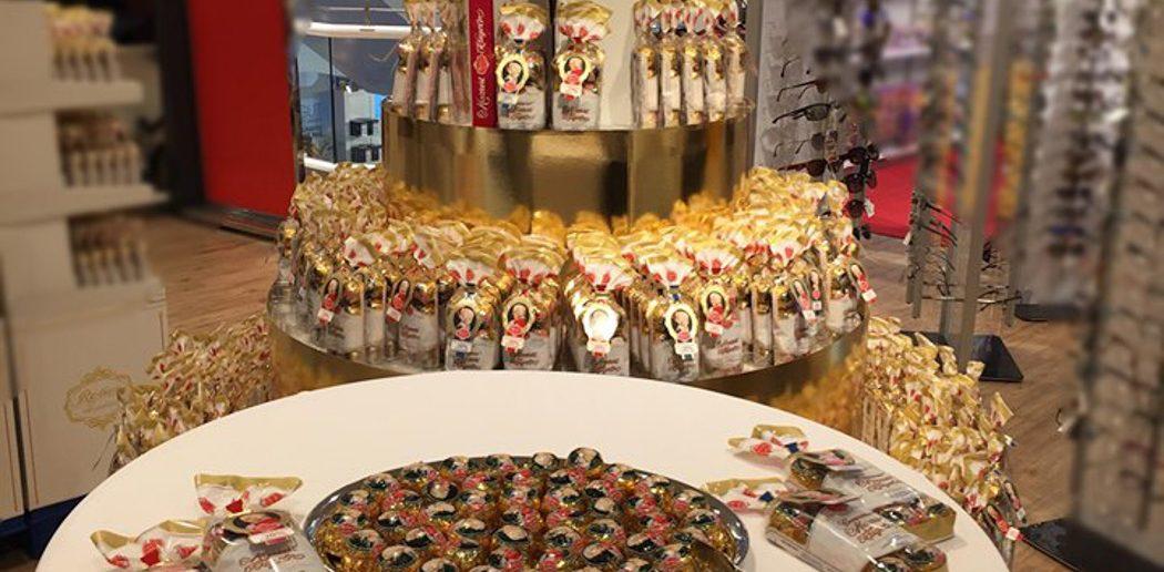 Mozartkugeln Produktausstellung